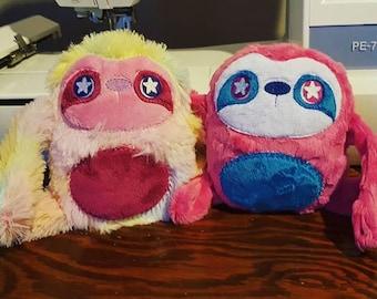 Mystery Sloth Plush Toy, Sloth Plushie Grab Bag, Sloth Random Plush