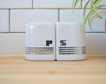 50's Ceramic Salt and Pepper Shakers