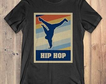 Hip Hop T-Shirt cadeau: Vintage stijl Hip Hop