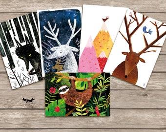Postcards collection nº6