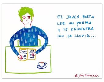 The poet's coffee