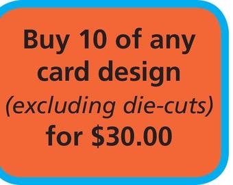 Buy Ten Cards