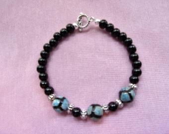 Men's Tibetan Agate bracelet