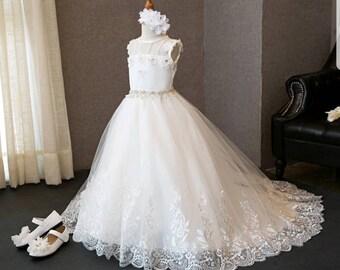 CUSTOM Daisy First Communion  Dress