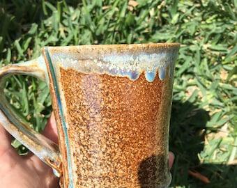 Soda Fired Stoneware Mug