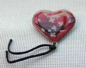 Banksy Pins Woundplast Heart Balloon Pin