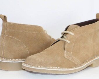 Mens Shoes - Genuine Leather Desert Boots made in South Africa