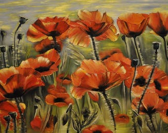"Still life ""Poppies"""