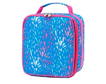 Sparktackular Lunch Box, FREE Monogram or Name, Lunch Tote