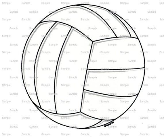 Volleyball Birthday - Edible Cake and Cupcake Topper For Birthday's and Parties! - D7659