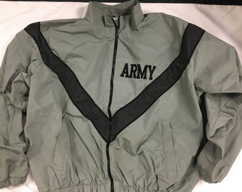 US Army windbreaker PT jacket IPFU uniform Reflective