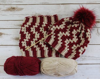 Granny hat cowl