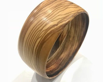 Brilliant Sicilian olive Wood bracelet