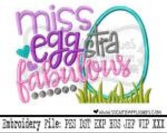 Miss Eggstra Fabulous, Girl Easter Shirt, Easter Shirt, Toddler Girl, Easter Egg Shirt, Egg Hunt Shirt