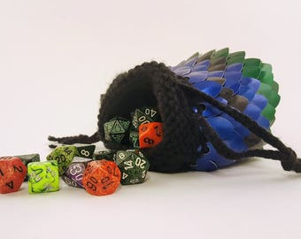 Scale Dice Bag: Brachydios Inspired