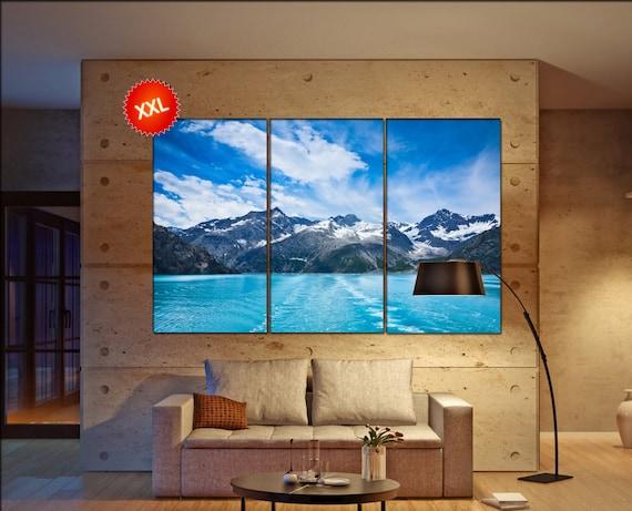 Glacier Bay  canvas wall art Glacier Bay wall decoration Glacier Bay canvas wall art art Glacier Bay large canvas wall art  wall decor