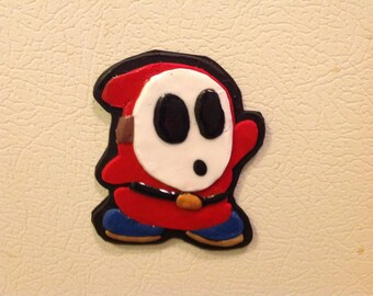 Red Shy Guy Magnet