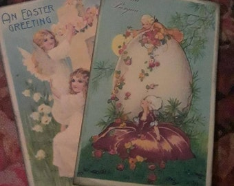 Antique Easter cards