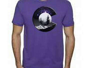Colorado Purple Galaxy C Tee