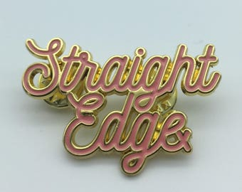 Straight Edge Pin