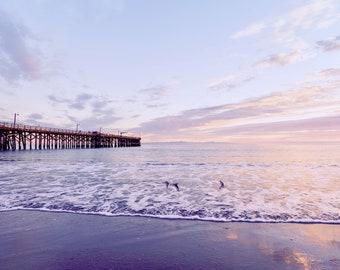 INSTANT DOWNLOAD Digital Wall Art Photography Ocean Photo Printable Sea Shore Sun Beach Water Sunrise Sunset Home Decor CB0041 Quiet Moments