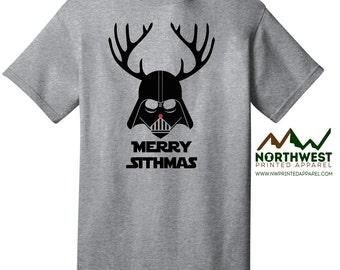 Merry Sithmas Darth Vader T-shirt