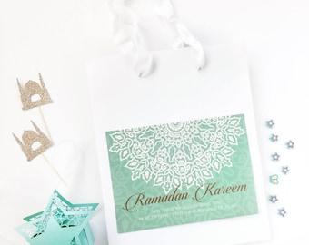 Ramadan Treat bags | Ramadan Gift Bags | Ramadan Goodie bags | Ramadan Kareem Favor bag | Ramadan decoration | Ramadan party bag