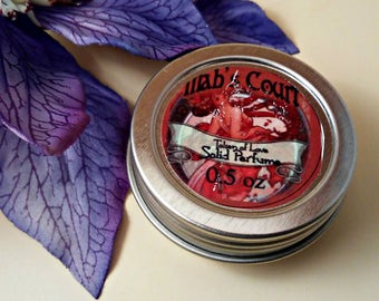Token of Love - Solid Perfume - Romantic Floral - Rose Perfume - Bouquet Perfume - Sweet Floral Scent - Romantic Scent - Fairy Tale Perfume