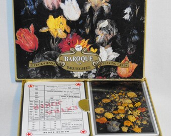 Deck Of Baroque Piatnik- Vienna  Complete set of Playing Cards