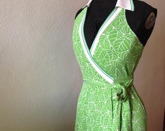 DIANE VON FURSTENBERG | Made in Italy | | silk dress | silk dress | vintage Silk Dress | Vintage Diane Von Furstenberg | Green Silk Dress
