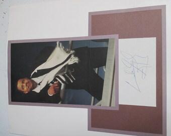cuba gooding autograph
