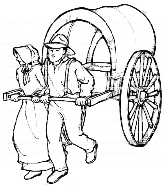 free coloring pages pioneers - photo#5