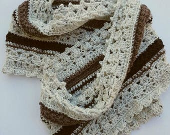 Dimebar Cheesecake and Peach Melba Cowl Patterns (2-in-1) - Intermediate Crochet Patterns