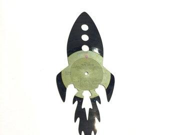 Vinyl Record Art: Rocket