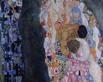 Gustav Klimt 'Death and Life'  limited edition & numbered