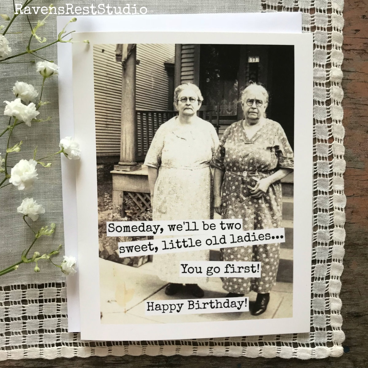 funny old ladies images funny birthday greeting card vintage photo someday 4223