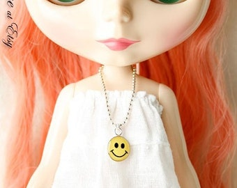 Happy Face Charm Necklace