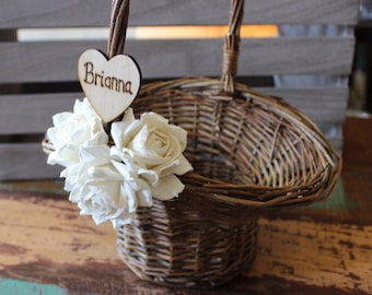 Flower Girl Baskets, Barn Rustic Wedding, Boho Wedding, Elegant Barn Wedding, Autumn Wedding Ideas, Rustic Wedding Decor, Bohemian Wedding