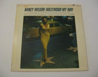 Nancy Wilson - Hollywood My Way - 1963  (Record)
