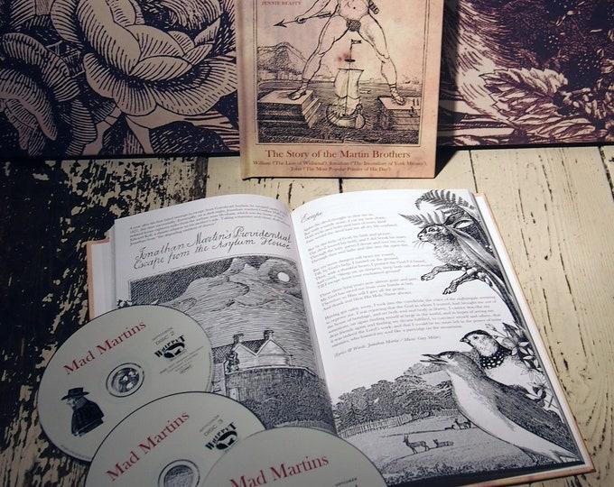 Mad Martins Triple CD & Book Package. Music By Gary Miller (Whisky Priests). Artwork By Me. Folk Music, Poetry, Spoken Word. Free Bonus CD.