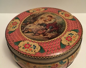 Fillerys Toffees Ltd Vintage Tin with Courting Couple