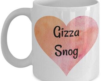 Gizza Snog mug, Lovers Gift, Love mug, Kissing, Love gift mug, Husband gift, Wife gift, Friend gift, Girlfriend, Boyfriend, Kiss, Snog mug