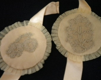 Antique Sachets Ribbon and Lace  (FFs138)