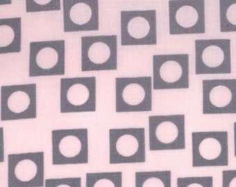 Aneela Hoey for Moda, Sherbet Pips, Play Dot in Pink Grey 18506.18 - 1 Yard