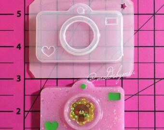 ON SALE Kawaii cam flexible plastic resin mold