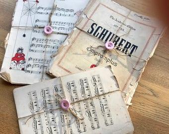 Vintage Antique 3 Bundle Lot Sheet Music