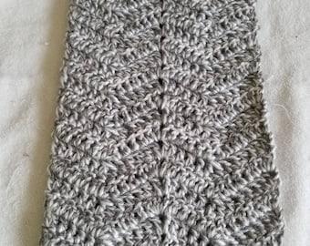 Beautiful Winter Scarf Hand Crocheted in Salem, Massachusetts
