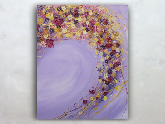 Abstrakte Bilder Auf Leinwand abstrakte leinwand kunst wand kunst leinwand gemälde original