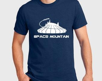 Disney Shirts Space Mountain Ride Shirt  Disneyland Shirt Disney World Shirt