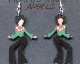 Dancing Disco Diva Earrings MADE TO ORDER